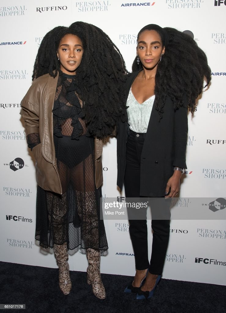 TK Quann and Cipriana Quann attend the 'Personal Shopper' New York Premiere at Metrograph on March 9, 2017 in New York City.