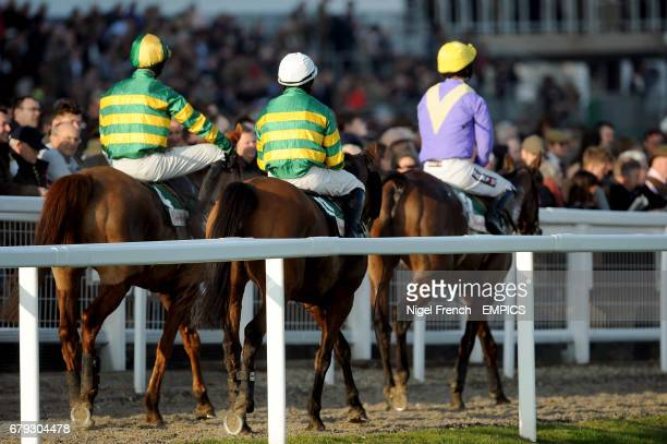Quantitativeeasing and jockey Mark Walsh Quiscover Fontaine and jockey Richie McLernon and Uncle Junior and jockey Patrick Mullins return to the...