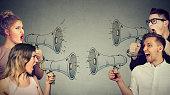 Quarrel between women and men