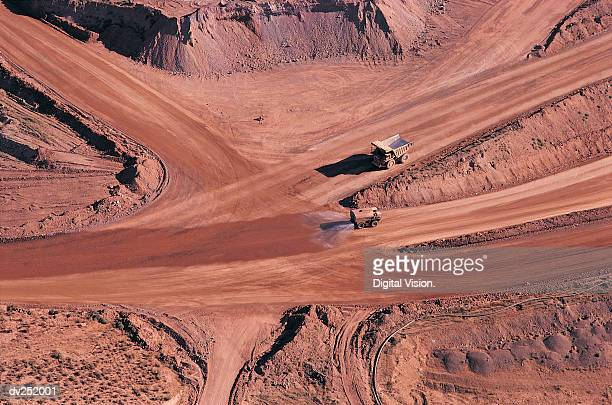 Quarry access roads