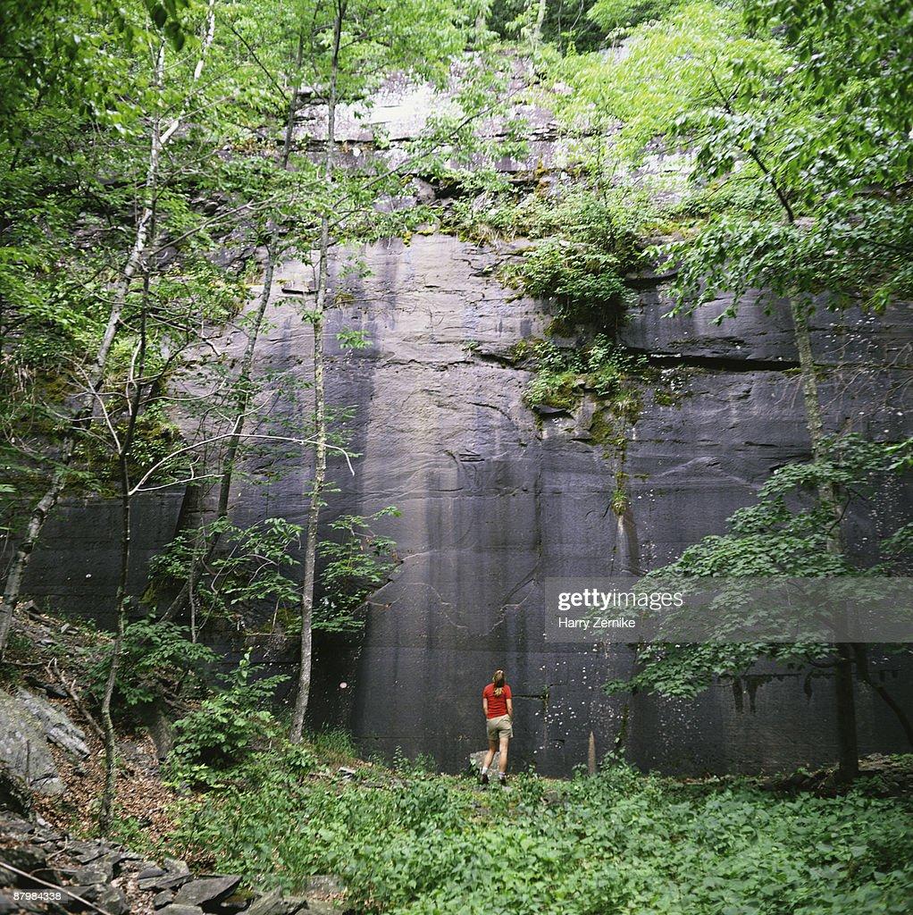 Quarry in Catskills , New York