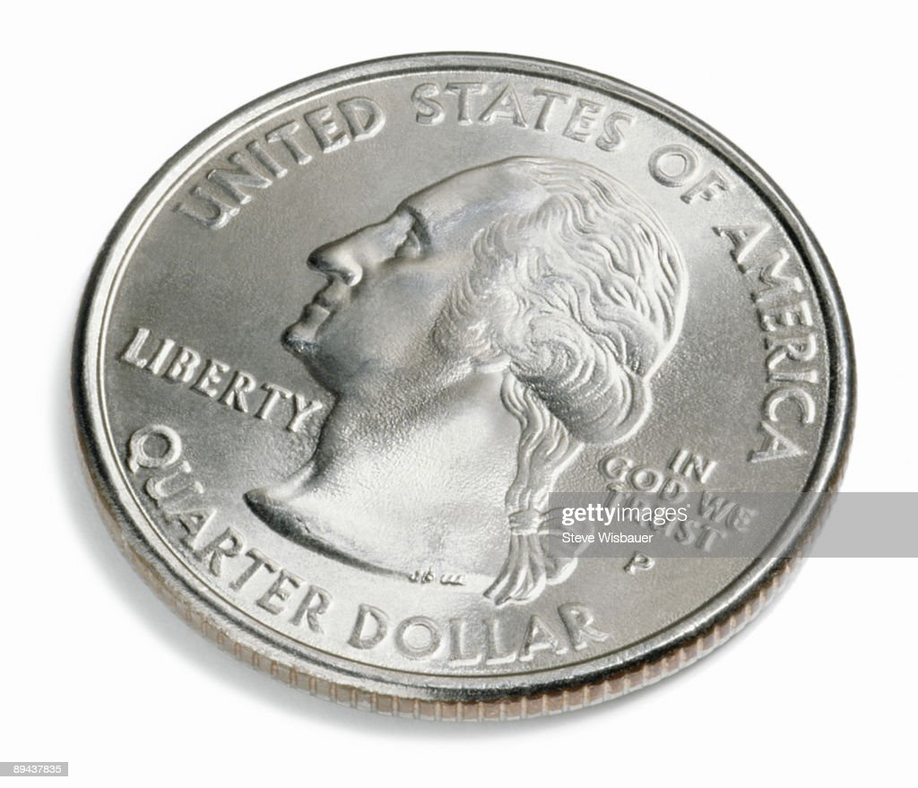 U.S. quarter of a dollar