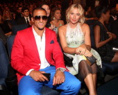 NFL quarterback Colin Kaepernick and Tennis player Maria Sharapova attend The 2013 ESPY Awards at Nokia Theatre LA Live on July 17 2013 in Los...