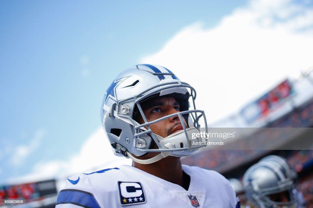 Dallas Cowboys v Denver Broncos : Fotografia de notícias