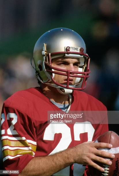 Quarterback Doug Flutie of Boston College Eagles warms up prior to playing the Penn State Nittany Lions in a NCAA College football game October 29...