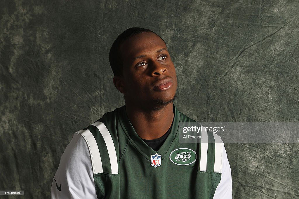 Quarterback Geno Smith #7 of the New York Jets poses during a portrait session on September 1, 2013 in Florham Park, New Jersey.