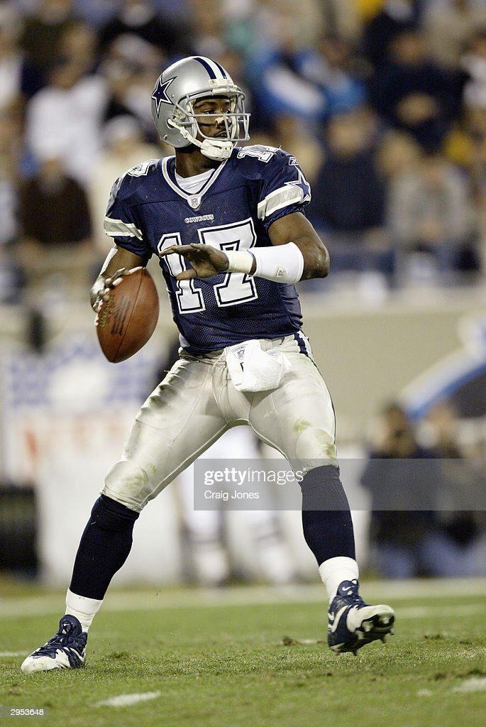 Dallas cowboys release quarterback quincy carter getty images
