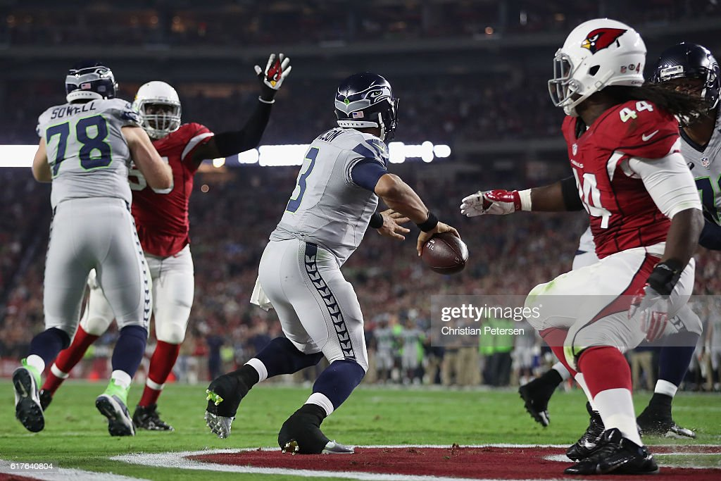 Seattle Seahawks v Arizona Cardinals : Fotografia de notícias