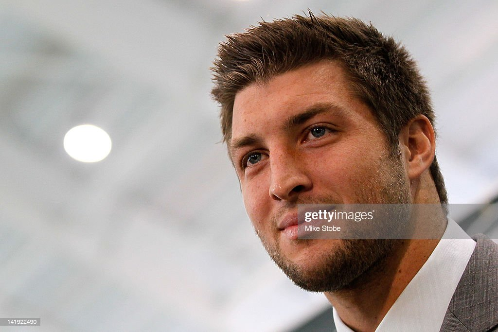 New York Jets Introduce Tim Tebow