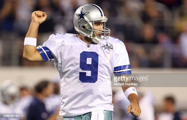 Tony Romo Celebrating