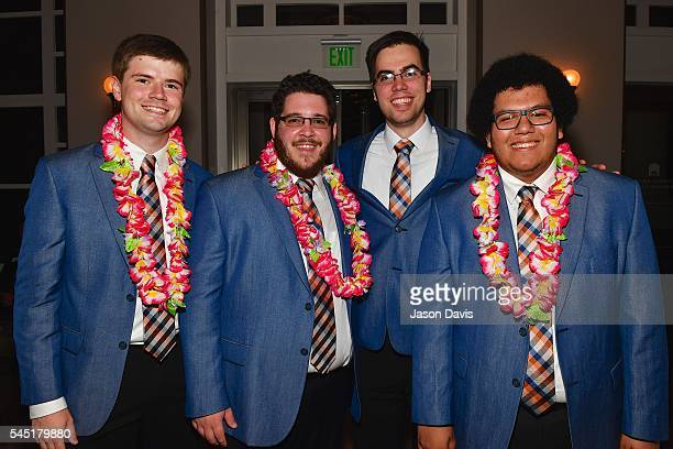 Quartet members and guests attend the Youth Barbershop Quartet Contest at the Schermerhorn Symphony Center where over 6000 harmony lovers are...