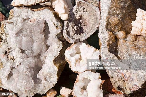 Quartz stones, Marrakech (Marrakesh), Morocco, North Africa, Africa