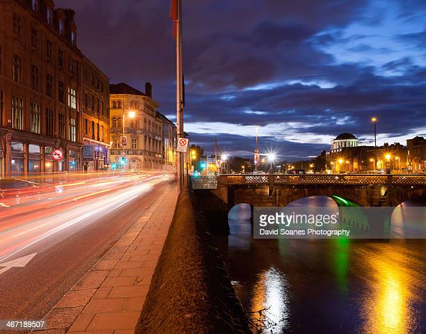 Quays at night