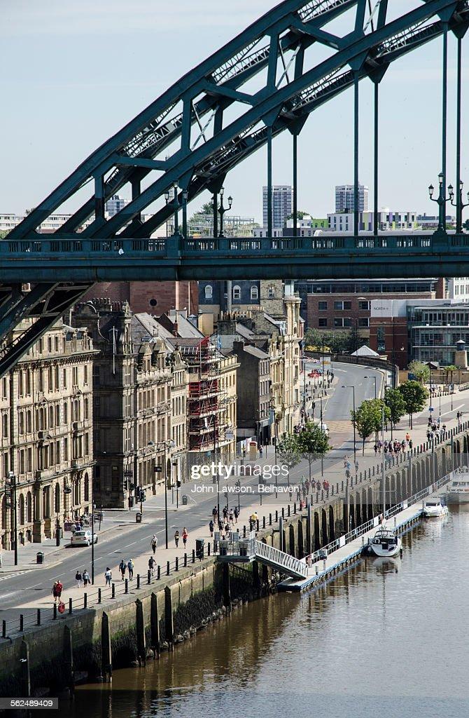 Quayside and Tyne Bridge, Newcastle-upon-Tyne