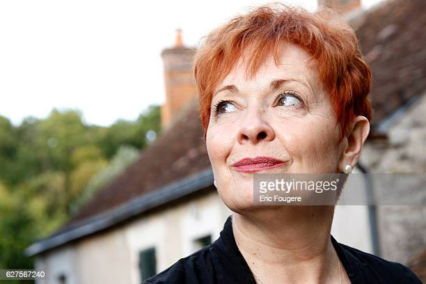 Quebec and French singersongwriter Fabienne Thibeault at 'la foret des livres ' in chanceaux près loche
