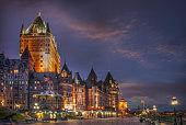 Quebec City, Chateau Frontenac Hotel
