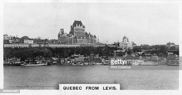 Quebec from Levis Canada c1920s Cigarette card produced by the Westminster Tobacco Co Ltd Canada 2nd series