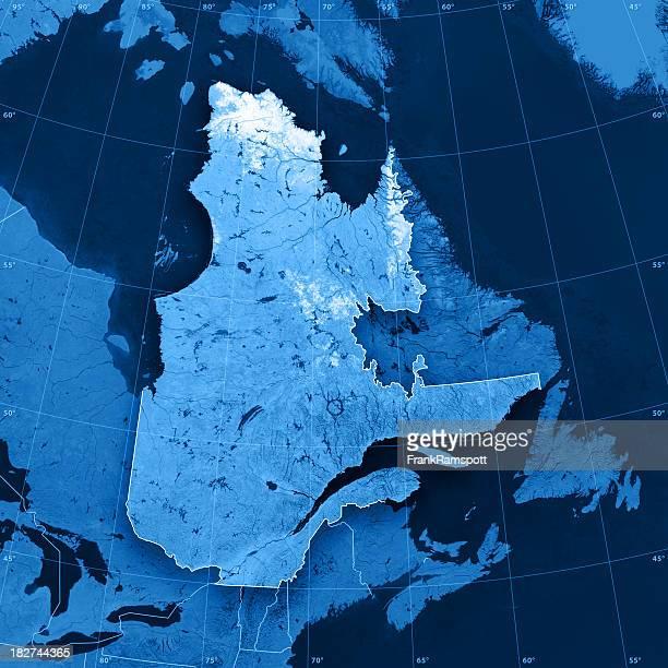 Quebec Topographic Map