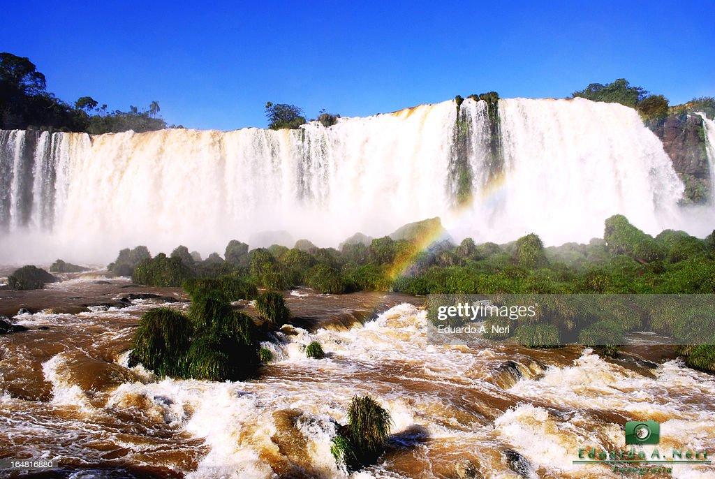 Quedas do Igua?u : Foto de stock