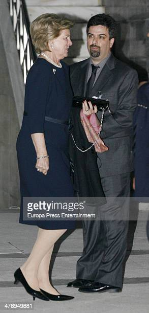 Queen Anne Marie of Greece attends a screening of a documentary about King Paul I of Greece on March 5 2014 in Athens Greece