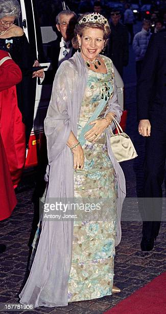 Queen AnneMarie Of Greece Attends Queen Margrethe Ii Of Denmark'S 60Th Birthday Celebrations In CopenhagenGala Performance At The Royal Theatre