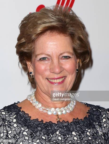 Queen AnneMarie of Greece attends the Philhellenes Gala at SkyBar at the Mondrian Los Angeles on October 9 2013 in West Hollywood California
