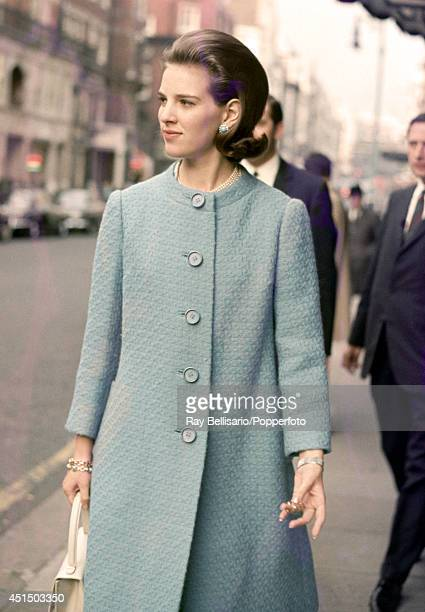 Queen AnneMarie of Greece during a visit to London 23rd May 1968