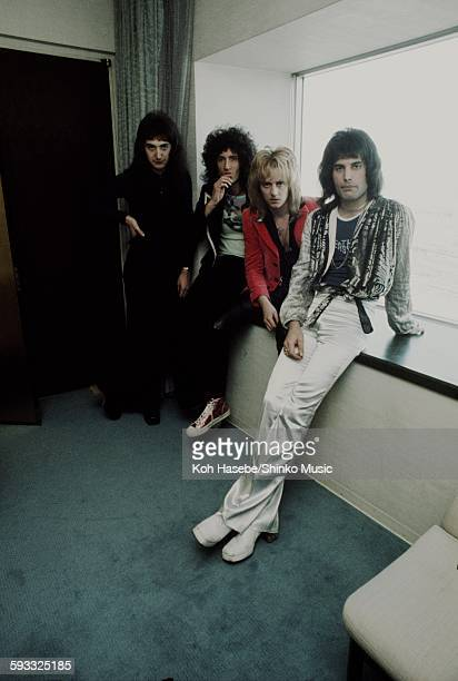 Queen at the hotel Tokyo March 1976