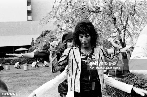 Queen at the Tokyo Prince Hotel's garden April 20th 1975