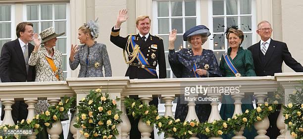 Queen Beatrix Crown Prince WillemAlexander Princess Maxima Prince Constantijn Princess Laurentien Pieter Van Vollenhoven Princess Margriet Of Holland...