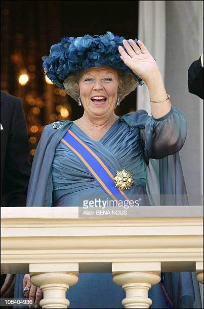 Queen Beatrix in The Hague Netherlands on September 20 2005