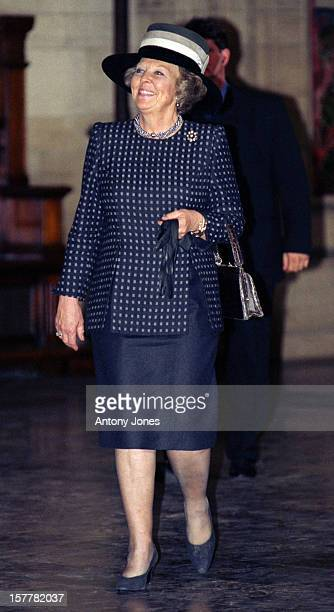 Queen Beatrix Of Holland Attends Queen Margrethe Ii Of Denmark'S 60Th Birthday Celebrations In CopenhagenReception At The Town Hall