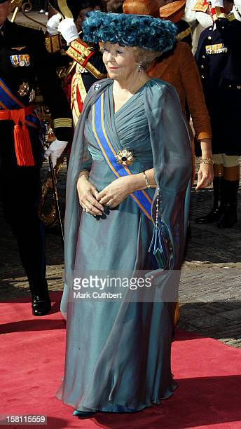 Queen Beatrix Of Holland Attends The Prinsjesdag Prince'S Day State Opening Of Parliament In The Hague