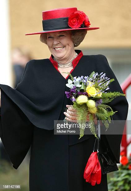 Queen Beatrix Of Holland Attends The Queen'S Day Festivities In Wijhe