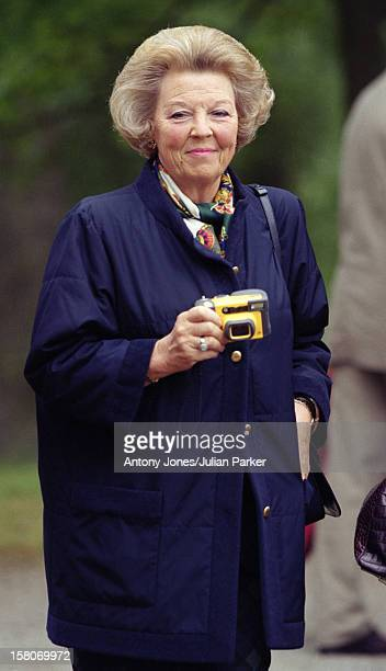 Queen Beatrix Of Holland During The Celebrations For King Carl Gustav Queen Silvia Of Sweden'S 25Th Wedding Anniversary