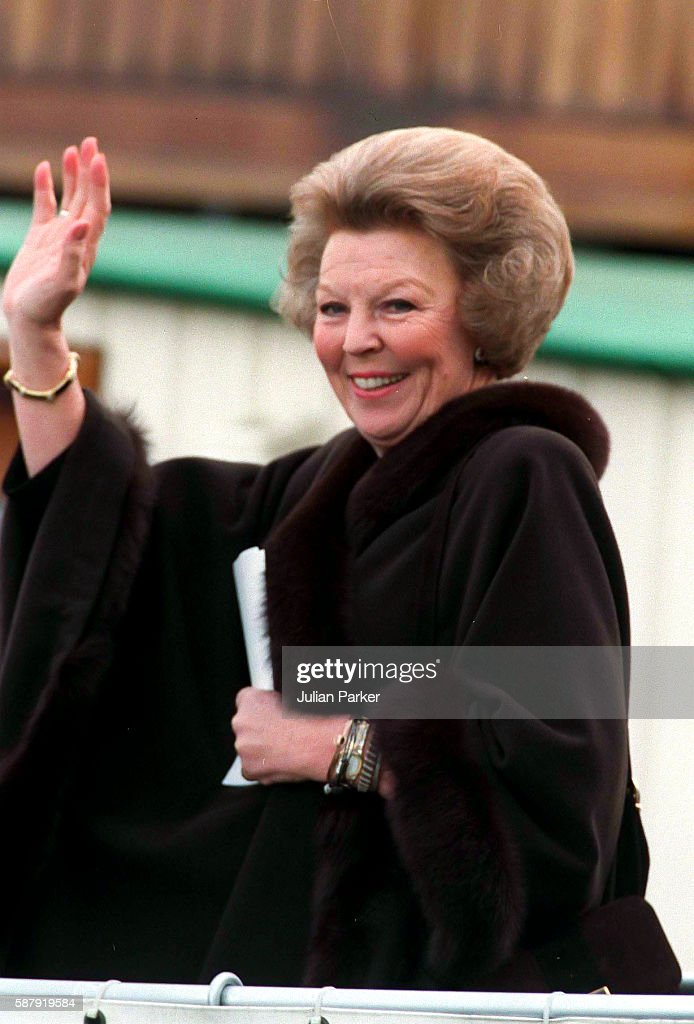 Queen Beatrix of The Netherlands attends a Church Service at Westerkerk and then a trip and Lunch on a Paddle Steamer in Amsterdam as part of her...
