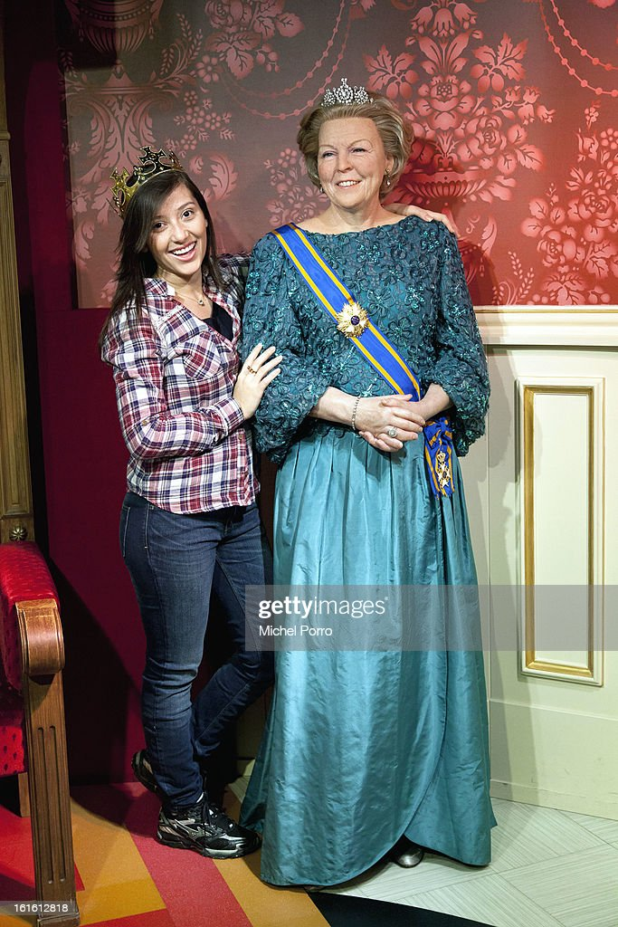 . Queen Beatrix of The Netherlands is a popular personality at Madame Tussauds as the nation looks forward to the 30 April 2013 coronation on February 13, 2013 in Amsterdam, Netherlands.