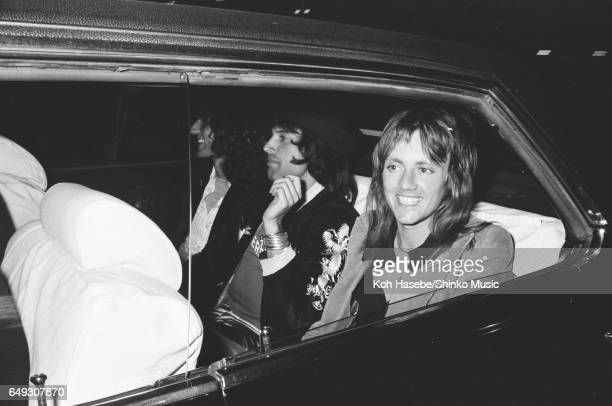 Queen drivse to the hotel by car April 17th 1975