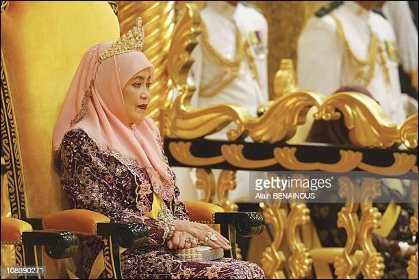 Queen Duli Yang Mulia Paduka In Brunei Darussalam on July 01 2003