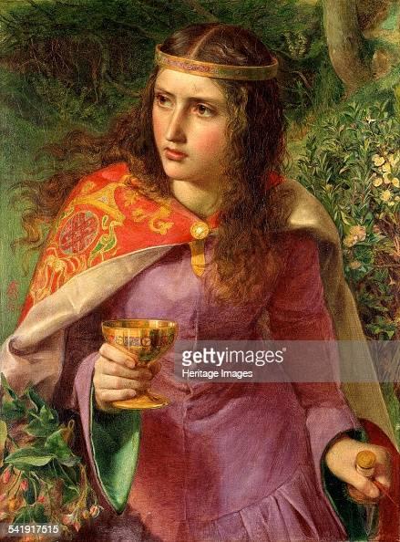 Queen Eleanor' 1858 Artist Frederick Augustus Sandys