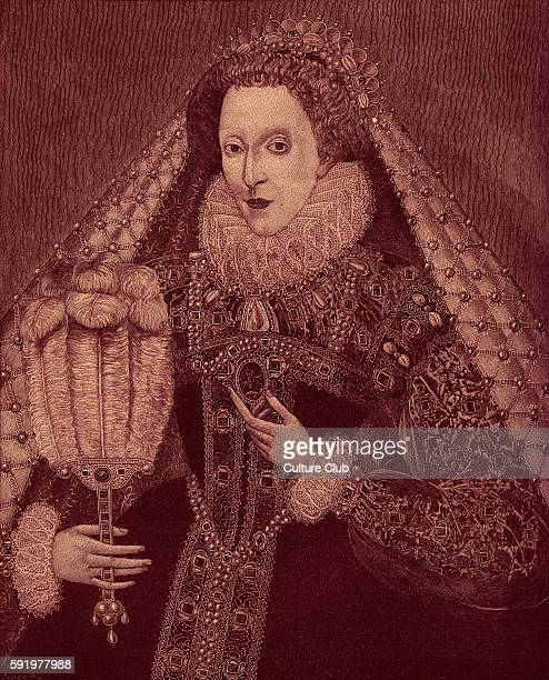 Queen Elizabeth I portrait of the Queen of England 7th of September 1533 24th of March 1603 Reigned from 17th November 1558 Portrait at Penhurst...
