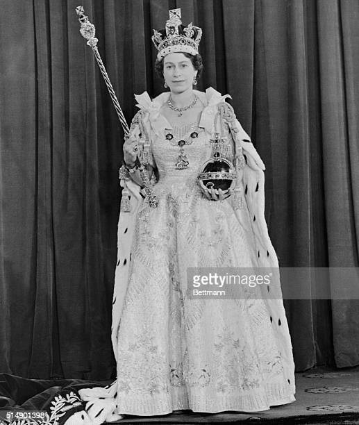 Queen Elizabeth II After Her Coronation