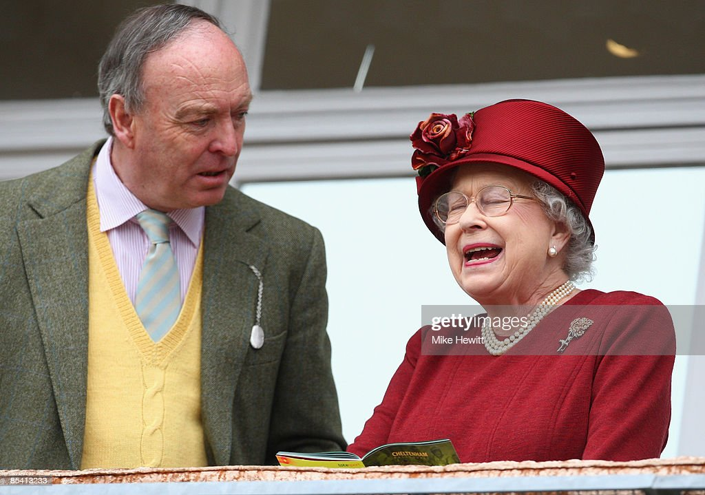 Queen <a gi-track='captionPersonalityLinkClicked' href=/galleries/search?phrase=Elizabeth+II&family=editorial&specificpeople=67226 ng-click='$event.stopPropagation()'>Elizabeth II</a> and Lord Sam Vestey attend Day Four of the Cheltenham Festival at the Cheltenham racecourse on March 13, 2009 in Cheltenham, England.