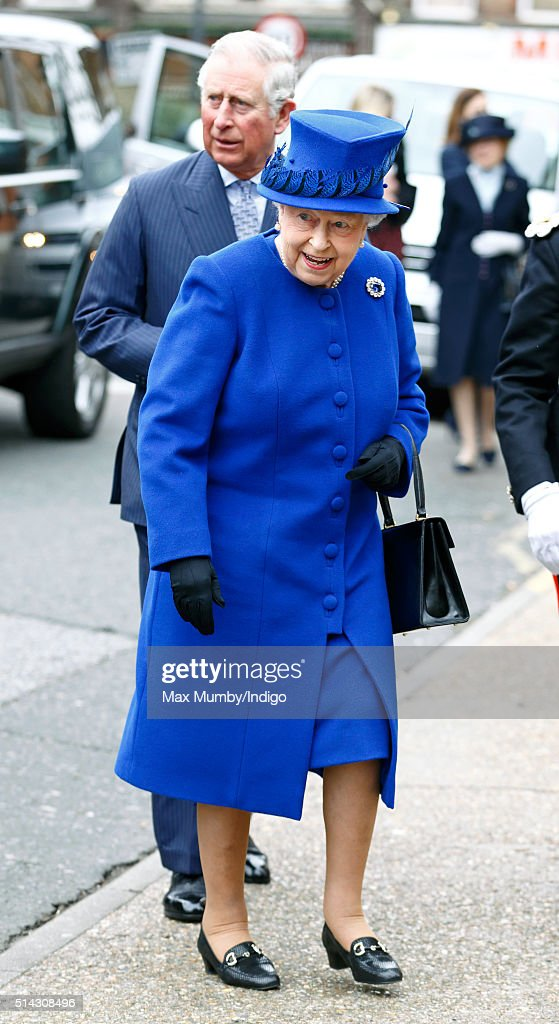 Queen Elizabeth II and Prince Charles, Prince of Wales visit The Prince's Trust Centre in Kennington to mark the 40th anniversary of The Prince's Trust on March 8, 2016 in London, England.