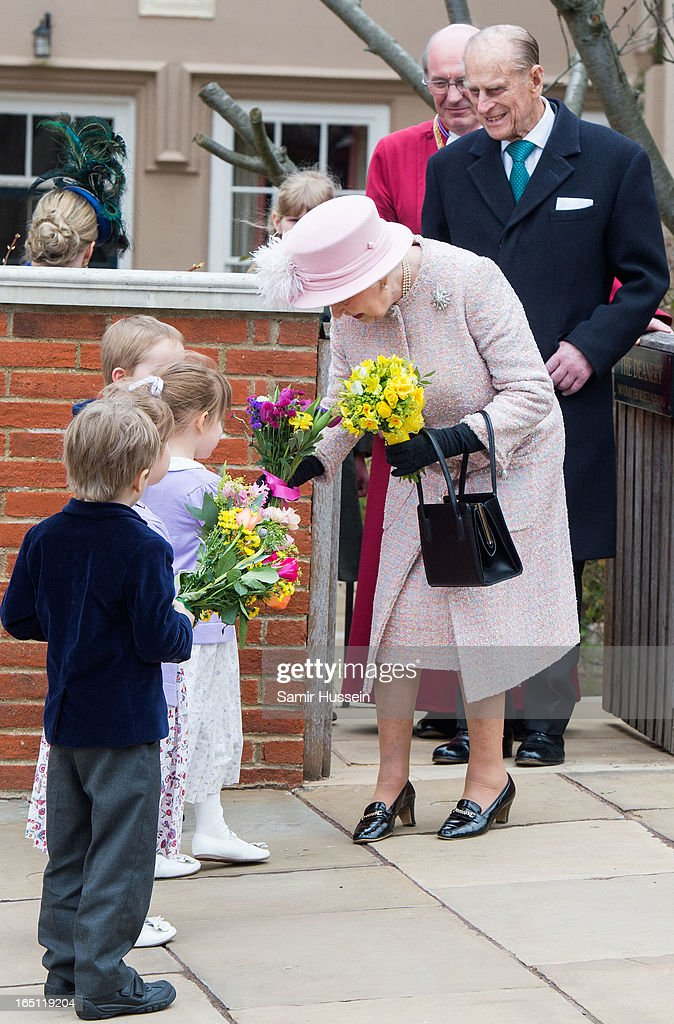 Queen <a gi-track='captionPersonalityLinkClicked' href=/galleries/search?phrase=Elizabeth+II&family=editorial&specificpeople=67226 ng-click='$event.stopPropagation()'>Elizabeth II</a> and <a gi-track='captionPersonalityLinkClicked' href=/galleries/search?phrase=Prince+Philip&family=editorial&specificpeople=92394 ng-click='$event.stopPropagation()'>Prince Philip</a>, Duke of Edinburgh attend an Easter Matins Service at Saint George's Chapel in Windsor Castle on March 31, 2013 in Windsor, England.
