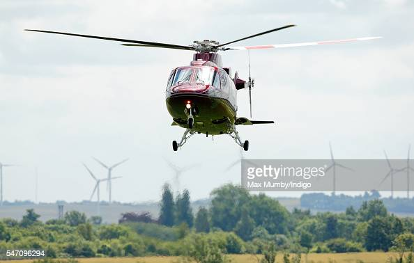 The Queen39s Helicopter Flight Stock Photos And Pictures  Getty Images