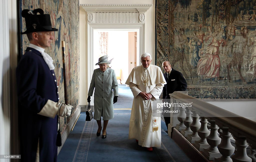 His Holiness Pope Benedict XVI Pays A State Visit To The UK - Day 1
