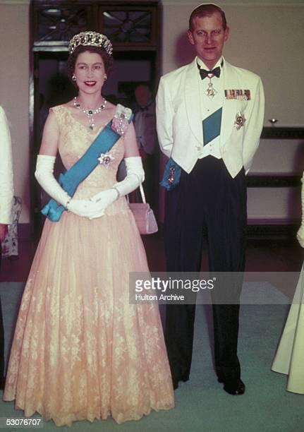 Queen Elizabeth II and Prince Philip in Australia 1954