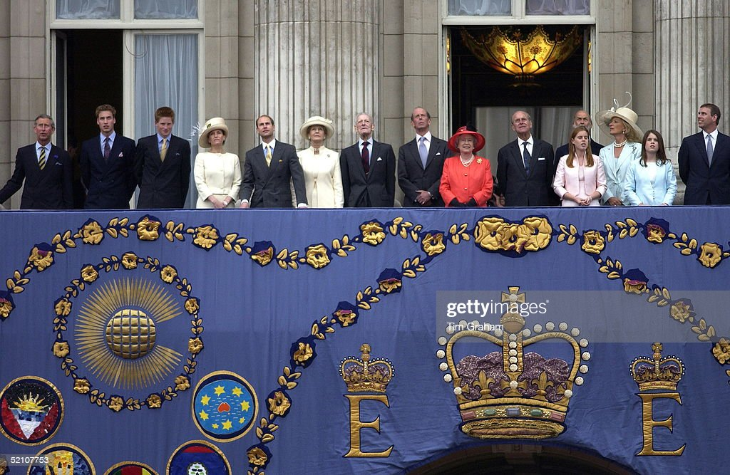 Angus ogilvy getty images for Queen elizabeth balcony
