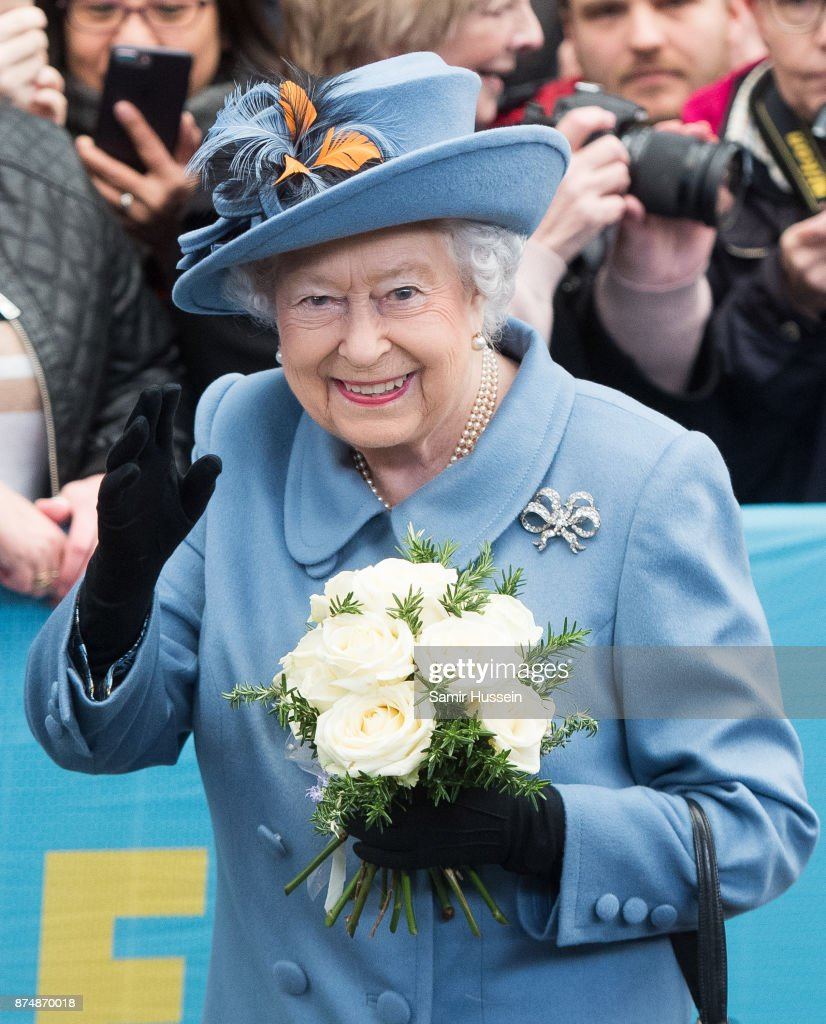 The Queen Visits Kingston Upon Hull
